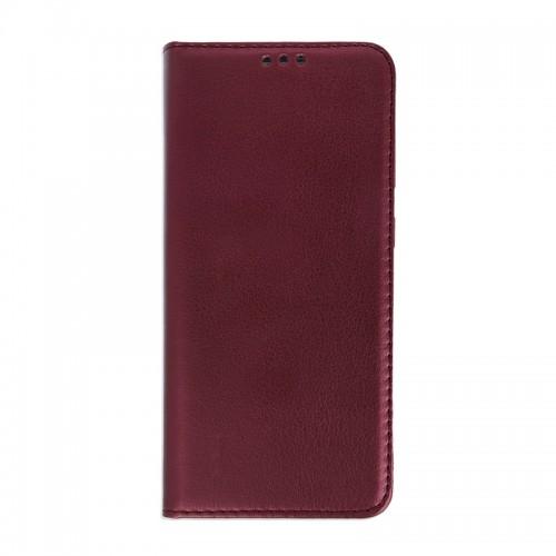 Θήκη Smart Magnetic Flip Cover για Samsung Galaxy A51 (Μπορντώ)