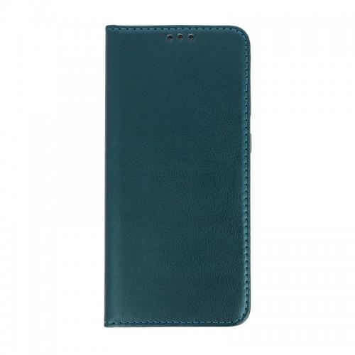 Θήκη Smart Magnetic Flip Cover για Samsung Galaxy A71 (Σκούρο Πράσινο)