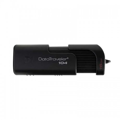Kingston DataTraveler 104 USB 2.0 16GB (Μαύρο)