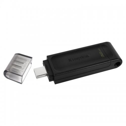 Kingston DataTraveler 70 32GB USB 3.2 (Μαύρο)