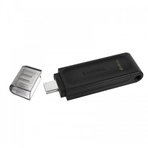 Kingston DataTraveler 70 64GB USB 3.2 (Μαύρο)
