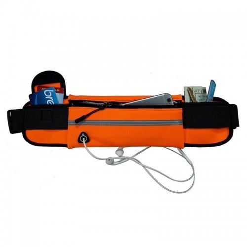 Θήκη Ultimate Ζώνης με υποδοχή ακουστικών και βάση μπουκαλιού (Πορτοκαλί)