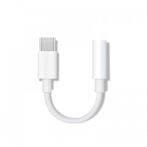 OEM Αντάπτορας USB Type-C σε 3.5 mm Jack Female (Άσπρο)