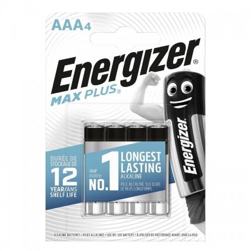 Μπαταρίες Αλκαλικές Energizer Max AAA LR03 (4τμχ) (Ασημί)
