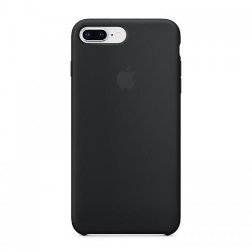 Θήκη Original Apple Silicone Case για iPhone 7/8 Plus (MQGW2ZM/A) (Black)