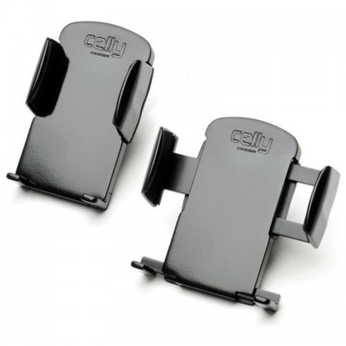 Βάση Στήριξης Celly OIympia για Κινητά και GPS έως 7.8cm (Μαύρο)