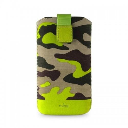 Θήκη Puro Camouflage Sleeve για Universal XL (Πράσινο)