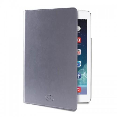 Θήκη Tablet Puro Booklet Slim Flip Cover για iPad Air 2 (Ασημί)