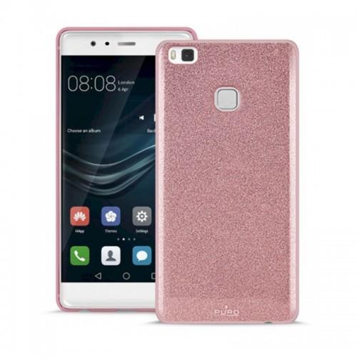 Θήκη Puro Back Cover Shine για Huawei P10 Lite (Ροζ)