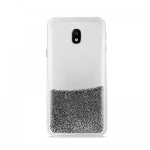 Θήκη Puro Sand Back Cover για Samsung Galaxy J3 2017 (Ασημί)