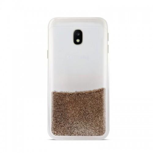 Θήκη Puro Sand Back Cover για Samsung Galaxy J3 2017 (Χρυσό)