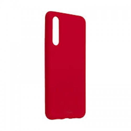 Θήκη Σιλικόνης Puro Icon Back Cover για Huawei P20 (Κόκκινο)
