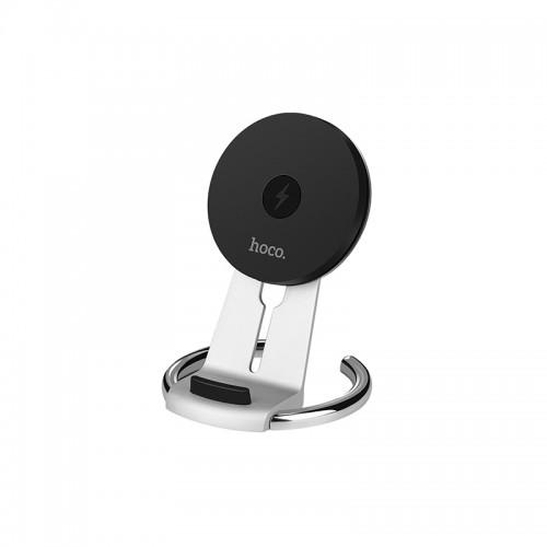 Βάση Φόρτισης Hoco CW5A Wireless  (Ασημί)
