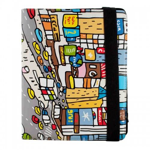 Θήκη Tablet Cállate la Boca Times Square Flip Cover για Universal 7'' (Design)