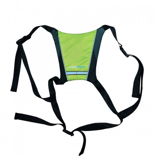 Skateflash Reflective Vest (Μαύρο-Λαχανί )