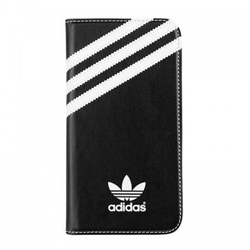 Θήκη Adidas Booklet Flip Cover για Samsung Galaxy S5 (Μαύρο)