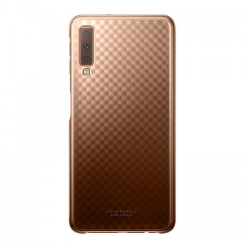 Θήκη Samsung Gradation Cover για Samsung Galaxy A7 2018 (Χρυσό)