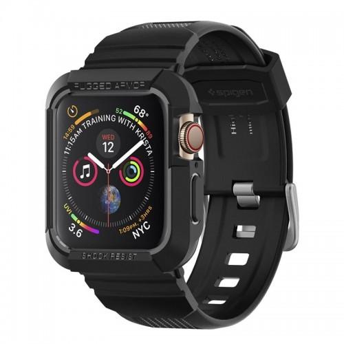 Θήκη Spigen Rugged Armor Pro για Apple Watch Series 4 (44mm) (Black)