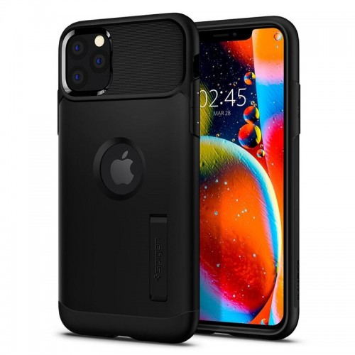 Θήκη Spigen Slim Armor Back Cover για iPhone 11 Pro Max (Black)