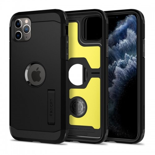 Θήκη Spigen Tough Armor Back Cover για iPhone 11 Pro Max (Black)