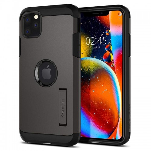 Θήκη Spigen Tough Armor Back Cover για iPhone 11 Pro (Gunmetal)