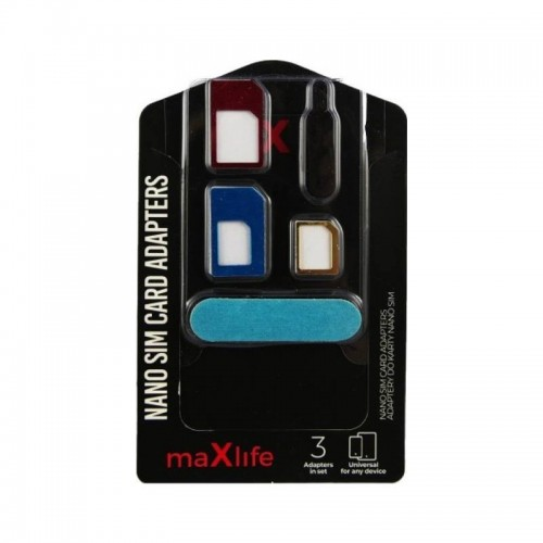 Maxlife Nano SIM Card Adapters