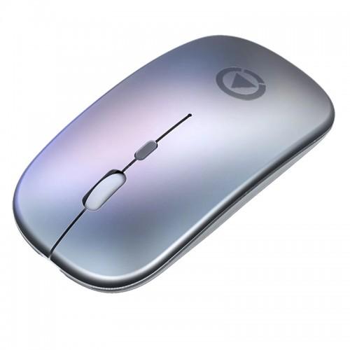 Ασύρματο Ποντίκι Yindiao A2 (Battery Version) (Ασημί)