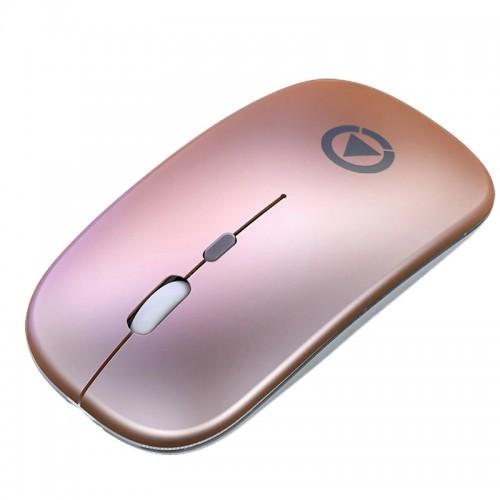 Ασύρματο Ποντίκι Yindiao A2 (Battery Version) (Rose Gold)