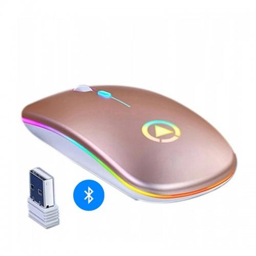 Ασύρματο Ποντίκι Yindiao A2 με LED Φωτισμό (Bluetooth Version)