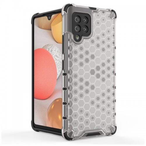 Θήκη OEM Honeycomb Back Cover για Samsung Galaxy A42 (Διαφανές)