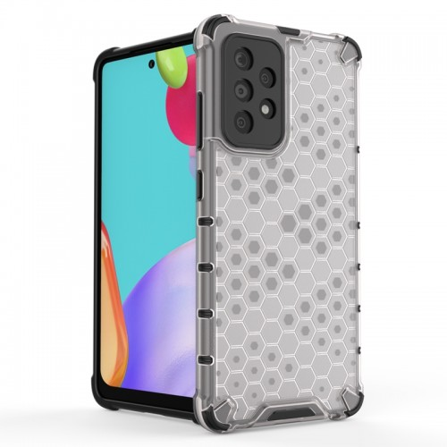 Θήκη OEM Honeycomb Back Cover για Samsung Galaxy A52 5G (Διαφανές)