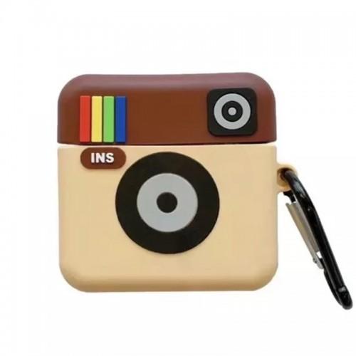 Θήκη Σιλικόνης Instagram για Apple AirPods (Design)