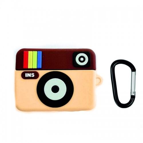 Θήκη Σιλικόνης Instagram για Apple AirPods Pro (Design)