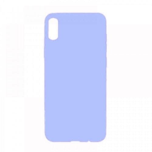 Θήκη MyMobi Σιλικόνης Mat Back Cover για Samsung Galaxy A21s (Ανοιχτό Μωβ)