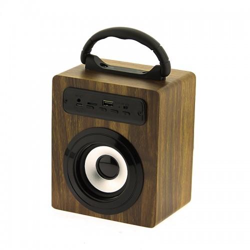 Ασύρματο Φορητό Bluetooth Ηχείο KBQ-O2M 5W (Άνοιχτο Καφέ)