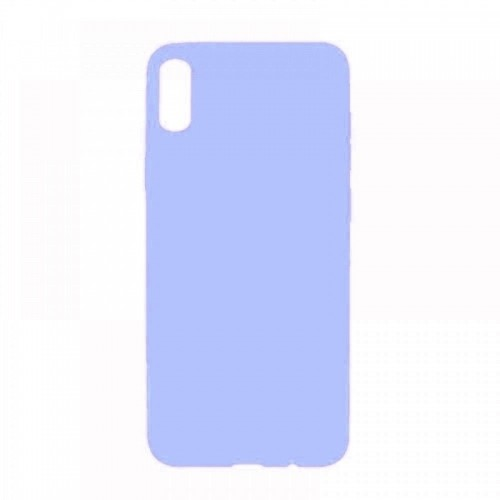 Θήκη MyMobi Σιλικόνης Mat Back Cover για Samsung Galaxy A12 (Ανοιχτό Μωβ)