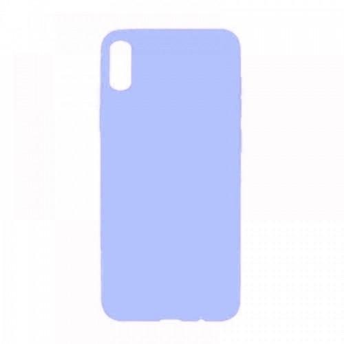Θήκη MyMobi Σιλικόνης Mat Back Cover για Samsung Galaxy A02 (Ανοιχτό Μωβ)