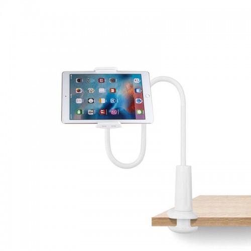 Βάση Στήριξης OEM Κινητού και Tablet με Εύκαμπτο Βραχίονα (Άσπρο)