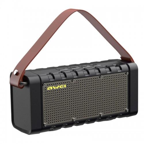 Ηχείο Bluetooth με Power Βank Awei Y668 (Μαύρο)