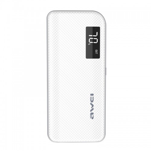 Power Bank Awei P76K 10000mAh (Άσπρο)
