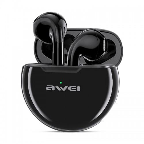 Ασύρματα Bluetooth Ακουστικά Awei T17 με Βάση Φόρτισης (Μαύρο)