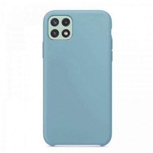 Θήκη OEM Silicone Back Cover για Samsung Galaxy A22 5G (Baby Blue)