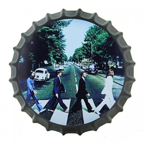Διακοσμητικό Τοίχου Καπάκι The Beatles Abbey Road (Design)