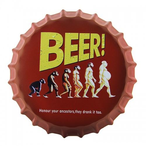 Διακοσμητικό Τοίχου Καπάκι Beer Ancestors (Design)