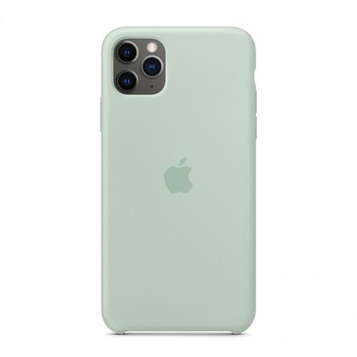 Θήκη Original Apple Silicone Case για iPhone 11 Pro Max (MXM92ZM/A) (Beryl)