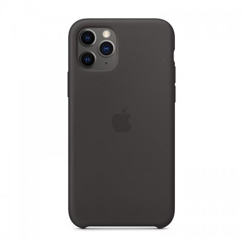 Θήκη Original Apple Silicone Case για iPhone 11 Pro (MWYN2ZM/A) (Black)