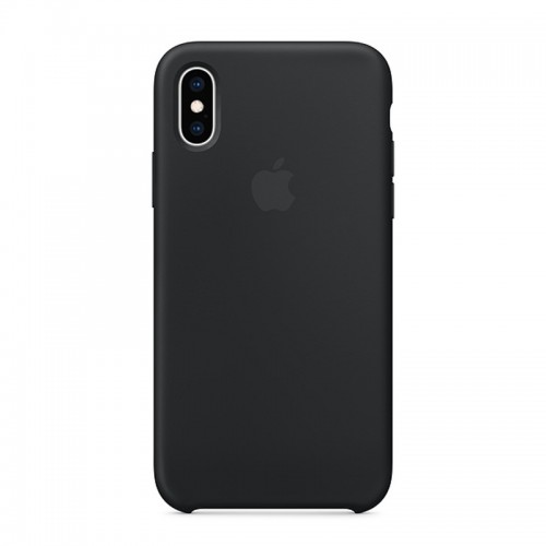 Θήκη Original Apple Silicone Case για iPhone X/XS (MRW72ZM/A) (Black)