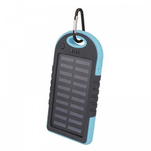 Solar Powerbank Setty 5000mAh (Μπλε)