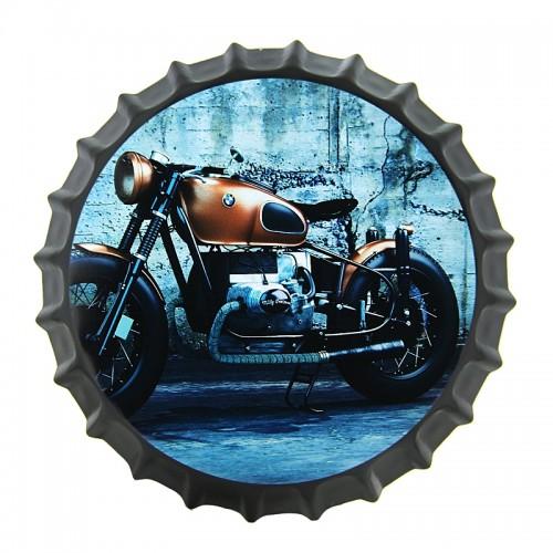 Διακοσμητικό Τοίχου Καπάκι BMW Motorcycle (Design)