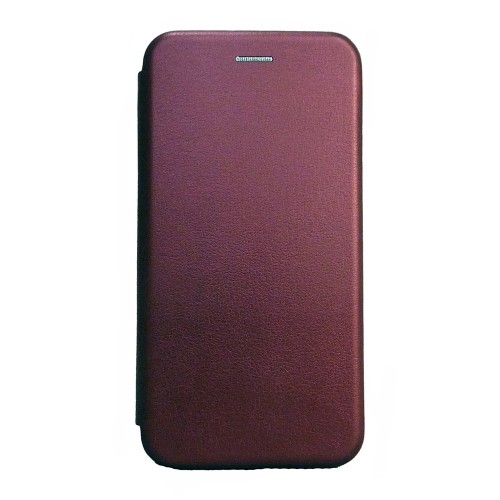 Θήκη MyMobi Flip Cover Elegance για Samsung Galaxy A32 (Μπορντώ)